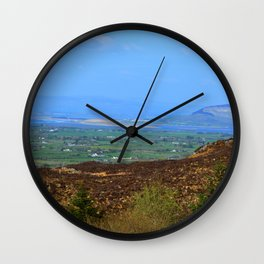 Ladies Brae Mountains Wall Clock