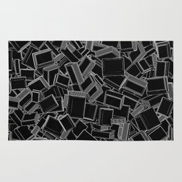 The Book Pile Rug