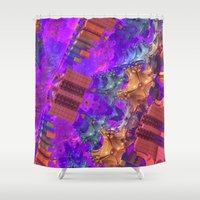 vertigo Shower Curtains featuring Vertigo by Lyle Hatch