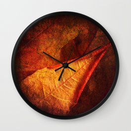 Cycle II Autumn Seasonal Modern ART Design  Wall Clock