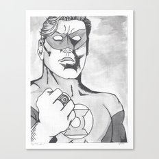 Green Lantern Canvas Print