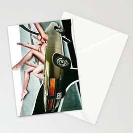Muscle Magnet | Collage Stationery Cards