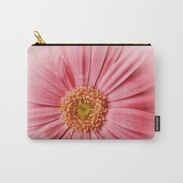Pink Gerbera Daisy at Barthel's Farm Market Carry-All Pouch