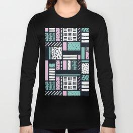 Pattern Pop Long Sleeve T-shirt