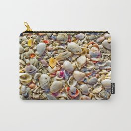 Seashells on the Shore Carry-All Pouch