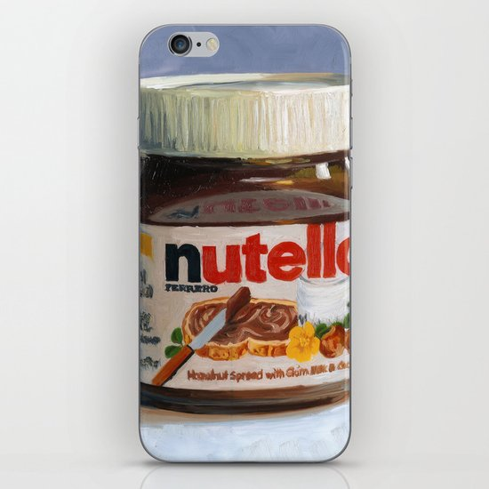 Nutella Oil Painting iPhone & iPod Skin