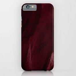 Burgundy Geode & Gold Glitter // 01 iPhone Case