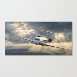 40 years flying Canvas Print
