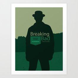 Breaking Bad season finale Art Print
