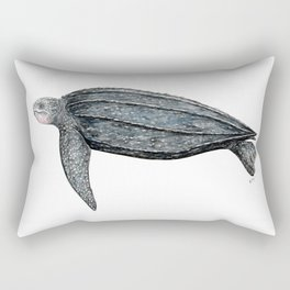 Leatherback turtle (Dermochelys coriacea) Rectangular Pillow