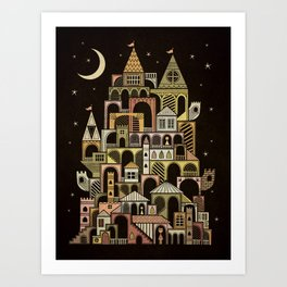 Castle Swirvington Art Print