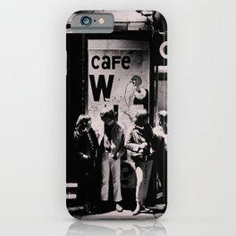 Greenwich Village Vintage Photography iPhone Case