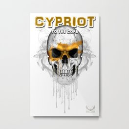 To The Core Collection: Cyprus Metal Print