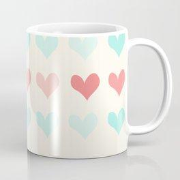 small hearts pattern Coffee Mug