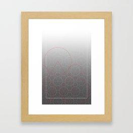 The Keywork Framed Art Print
