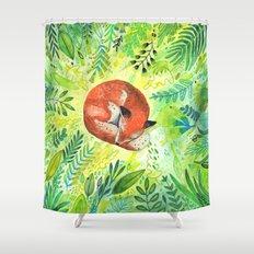 Nature's Heart Shower Curtain