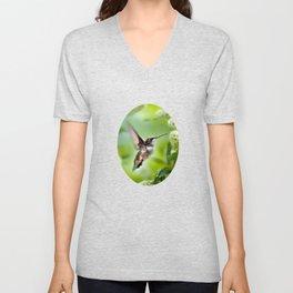 Hummingbird Love Unisex V-Neck