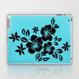 Lilikoi Hibiscus Hawaiian Hula Pareau Design Laptop & iPad Skin