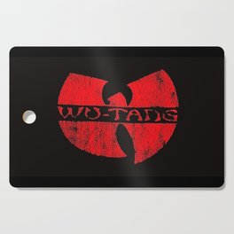 wu-tang red deep Cutting Board