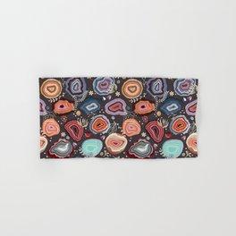 Colorful agates Hand & Bath Towel