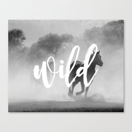 MANTRA SERIES: Wild Canvas Print
