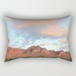 Pink Desert Rectangular Pillow