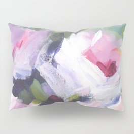 White Rose Bouquet Pillow Sham