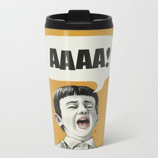 AAAA! (Golden) Metal Travel Mug