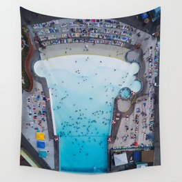 Wild Waves Wave Pool Wall Tapestry