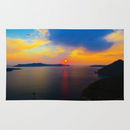 Fira,Sunset Rug