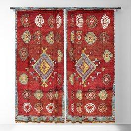 Çal Yatak 19th Century Southwest Anatolian Rug Blackout Curtain