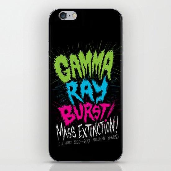 Gamma Ray Burst iPhone & iPod Skin