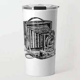 Antique Camera Vintage I Love Photography Photos Travel Mug