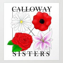 Calloway Sisters Art Print