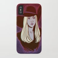 coven iPhone & iPod Cases featuring Zoe Benson / American Horror Story: Coven by jerseytigermoth
