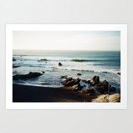 Punta de Lobos  Art Print