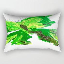MARIPOSA VERDE by Maricela del Rio Rectangular Pillow