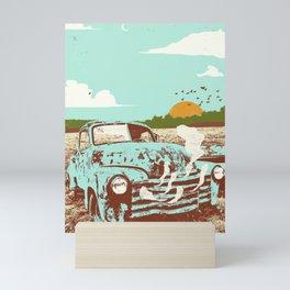 OLD TRUCK Mini Art Print