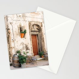 Old street with plants in Bonifacio | Travel Photography France | Fine Art Photo Print Stationery Cards