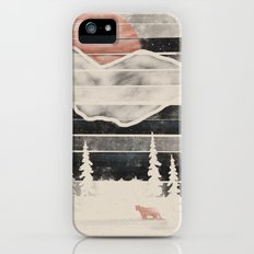 Mountain Lion at Midnight... iPhone (5, 5s) Slim Case