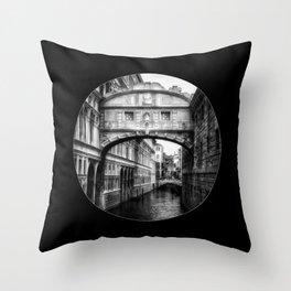 Ponte dei Sospiri | Bridge of Sighs - Venice  Throw Pillow