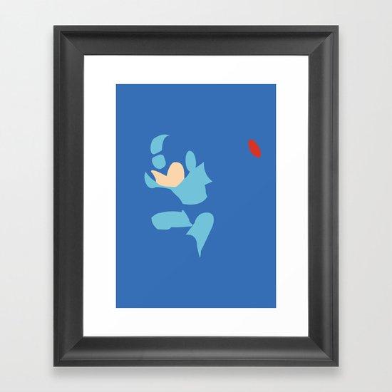 Mega Man - Mega Man Framed Art Print