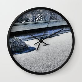 Winter Might Frost (Kyoto) Wall Clock