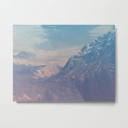 bamf mountain Metal Print