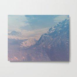 bamf mountain Metal Print