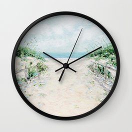 Sandbridge Dunes Wall Clock