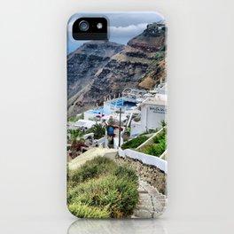 Santorini 3 iPhone Case