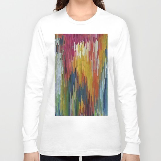 Abstract painting 112 Long Sleeve T-shirt