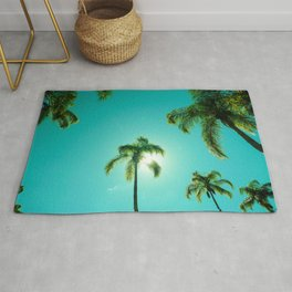 The Queen's Palms Rug