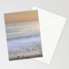 Soft waves. Sunset Stationery Cards